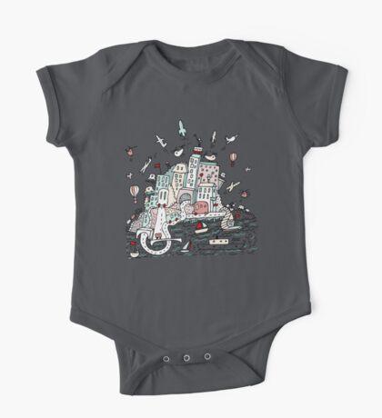 Transport City Kids Clothes