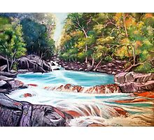 River Flow, Australia Photographic Print