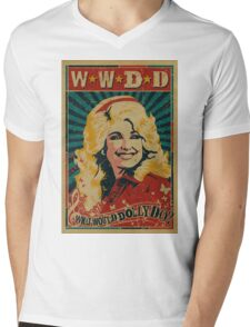 what would dolly do Mens V-Neck T-Shirt