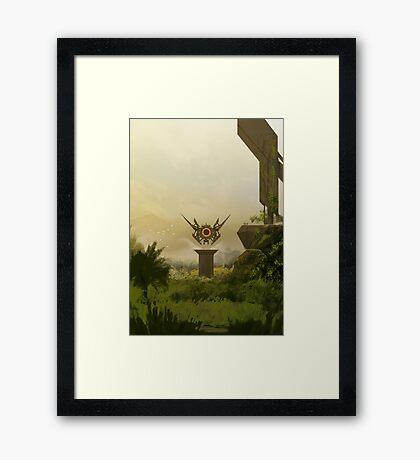 Jungle Environment Framed Print