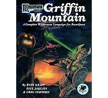 Griffin Mountain Cover Photographic Print