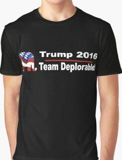 Trump 2016 - Team Deplorable! Graphic T-Shirt
