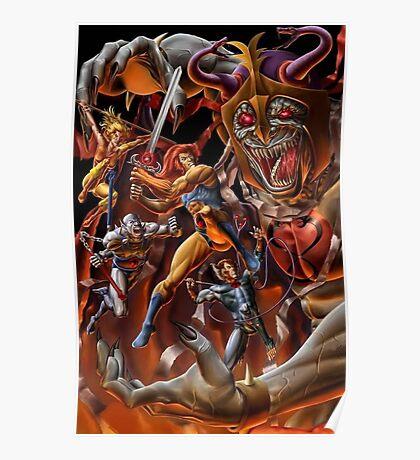 Battle Thundercats Poster