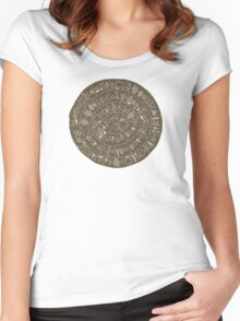 Phaistos Disk Women's Fitted Scoop T-Shirt
