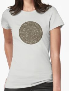 Phaistos Disk Womens Fitted T-Shirt