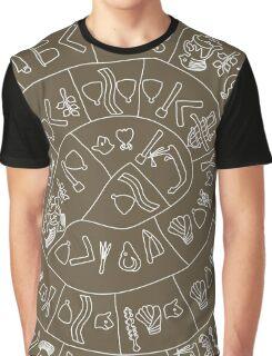Phaistos Disk Graphic T-Shirt