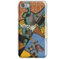 Juan Gris - Violin And Checkerboard iPhone Case/Skin