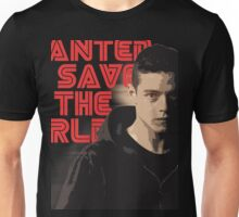 MR.Robot Save The World Unisex T-Shirt