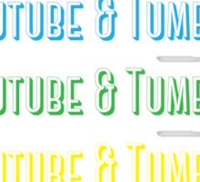 Youtube & Tumblr Sticker