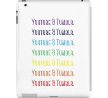 Youtube & Tumblr iPad Case/Skin