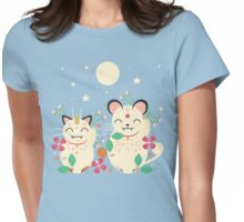 Lucky Cats  Womens Fitted T-Shirt