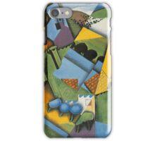 Juan Gris - Landscape With House At Ceret 1913 iPhone Case/Skin