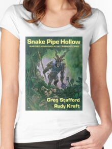 Snake Pipe Hollow - Broo cover Women's Fitted Scoop T-Shirt