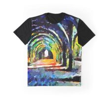 Fountains Abbey Series 005 Graphic T-Shirt