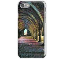 Fountains Abbey Series 001: Dark and Gothic iPhone Case/Skin