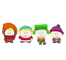 South Park Kindergarten Photographic Print