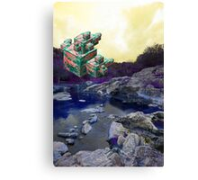 lions in my blood Canvas Print