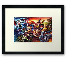 Power Thundercats Framed Print
