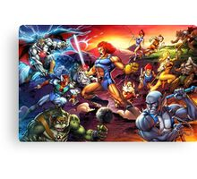 Power Thundercats Canvas Print