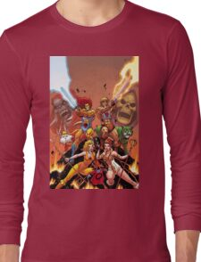 Thundercats & He Man Long Sleeve T-Shirt