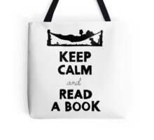 KEEP CALM AND READ A BOOK Tote Bag