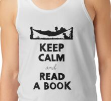 KEEP CALM AND READ A BOOK Tank Top