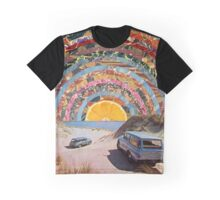 Orange sunset Graphic T-Shirt