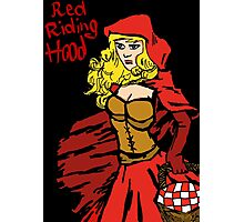Red riding hood Photographic Print