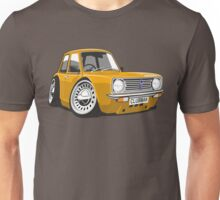 Mini Clubman caricature orange Unisex T-Shirt