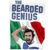 The Bearded Genius Poster