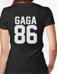 #LADYGAGA Womens Fitted T-Shirt