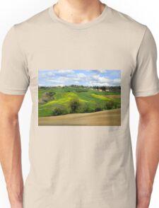 Tuscany landscapes Unisex T-Shirt