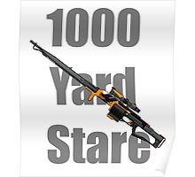 1000 Yard Stare Poster