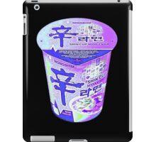 Purple Korean Shin Cup Ramen iPad Case/Skin