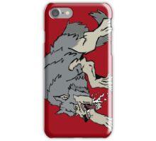 Big bad wolf iPhone Case/Skin