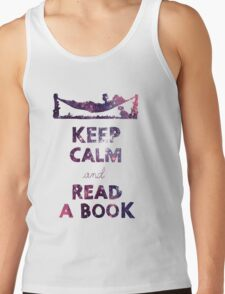 KEEP CALM AND READ A BOOK (Space) T-Shirt