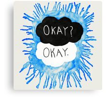 The Fault In Our Stars | Watercolor Canvas Print