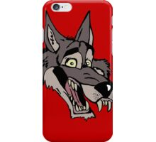 Big wolf iPhone Case/Skin