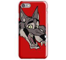 Big wolf iPhone Case/Skin
