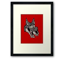 Big wolf Framed Print