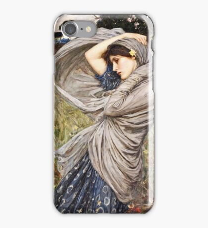 John William Waterhouse - Boreas  iPhone Case/Skin