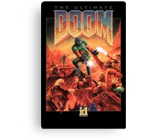 Doom retro Canvas Print
