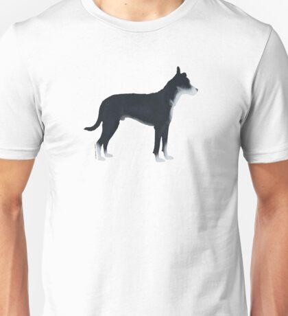 Mutt: Black & White Unisex T-Shirt