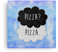 Pizza? Pizza. Canvas Print