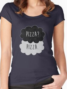 Pizza? Pizza. Women's Fitted Scoop T-Shirt