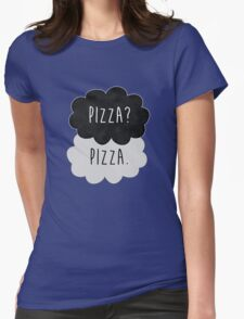 Pizza? Pizza. Womens Fitted T-Shirt