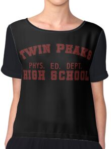 Twin Peaks Phys Ed  Chiffon Top