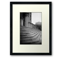 Stairs to Salute Framed Print