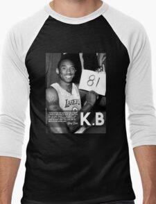 Kobe 81 Men's Baseball ¾ T-Shirt