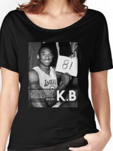 Kobe 81 Women's Relaxed Fit T-Shirt